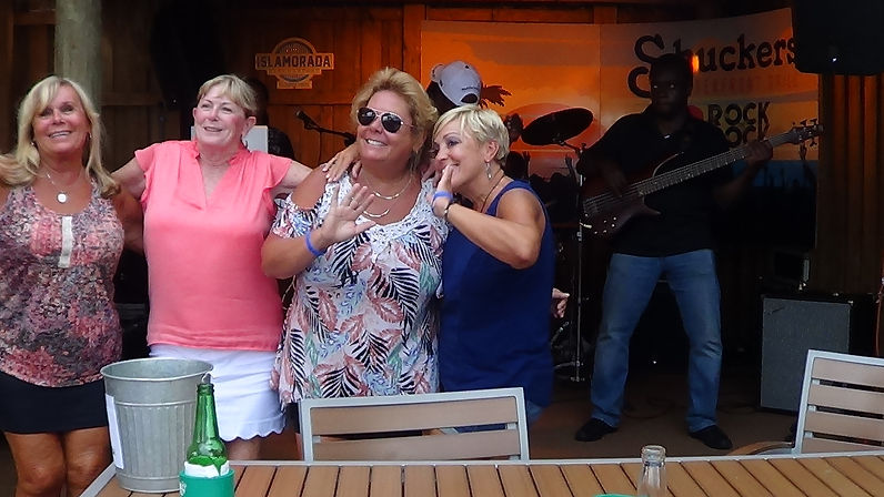 Fans of the ifrolix band at shuckers