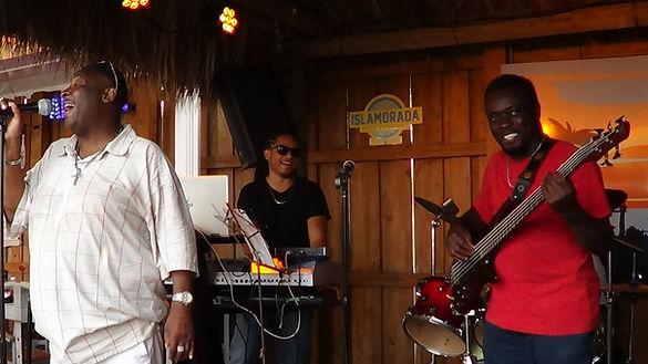 Singing Sway with ifrolix band at shuckers.JPG