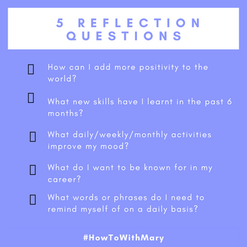5 reflection questions