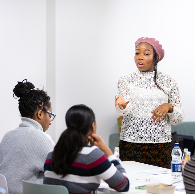 NYT Level Up Workshop with Broadgate for IWD 2020