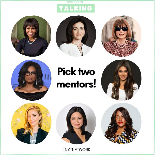 Mentoring NYT style