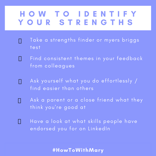 How to Identify your Strengths