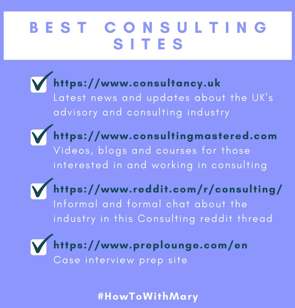 Best consulting sites