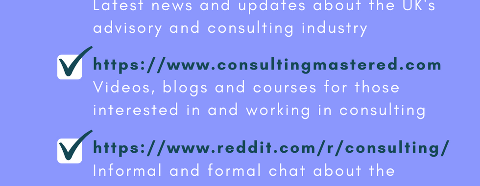 Best consulting sites