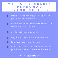 My top LinkedIn Personal Branding tips