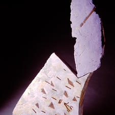 """Shards stacked 1987 4ft x 3.5ft x 6"""""""