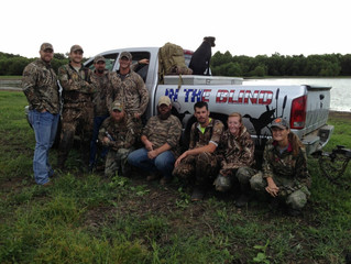 In the Blind and RDW Teal Hunt