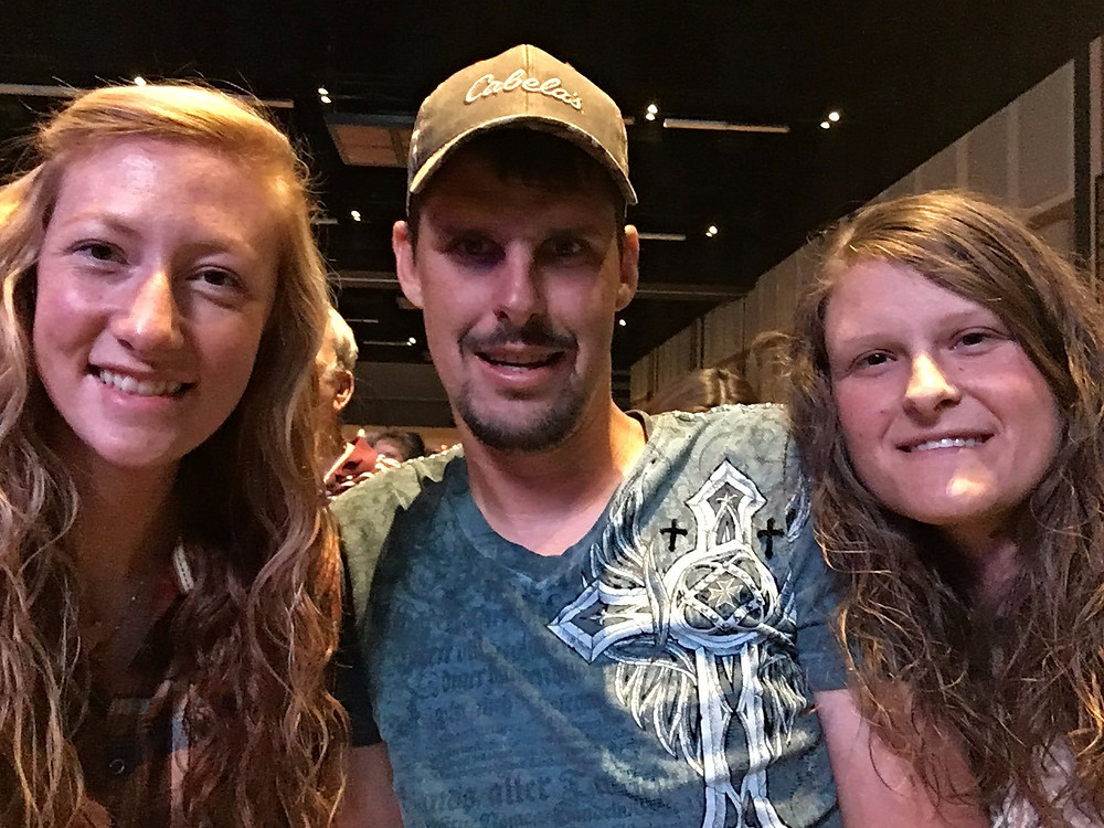 Some of the Crew seeing Josh Turner in concert.