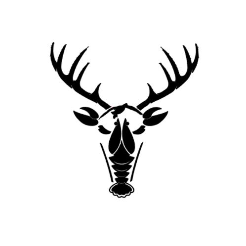 Southern Deer Head Decal