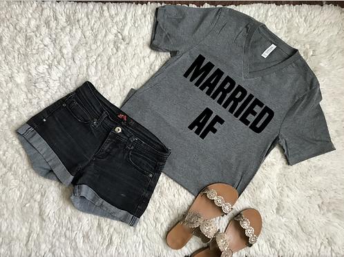 Married AF vneck