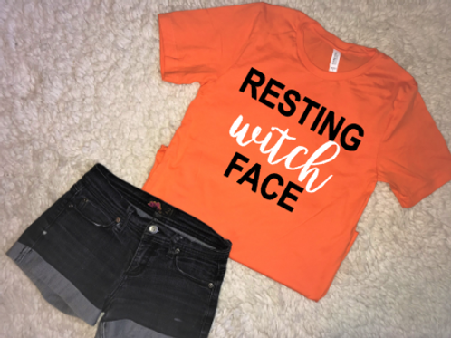 Resting Witch Face Tshirt