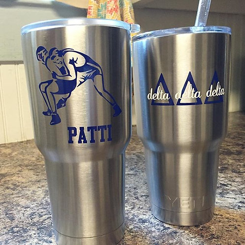 Custom Stainless Steal Tumbler