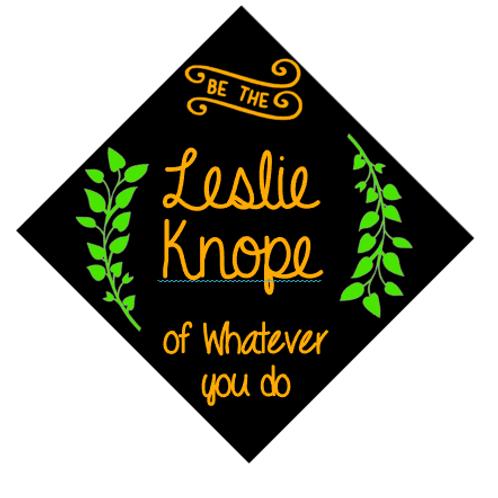 Leslie Knope Grad Cap