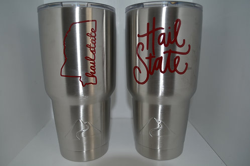 Mississippi State Stainless Steel Tumblers