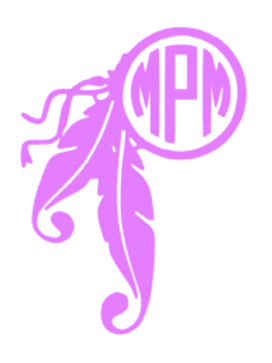Dreamcatcher Monogram Decal