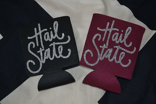 Mississippi State Glitter Can Huggers