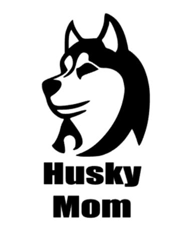 Husky Mom Decal