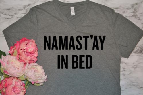 Namast'ay in bed vneck