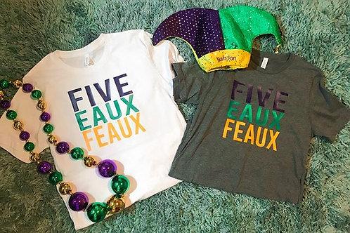 Five Eaux Feaux tshirt