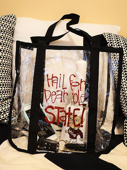 Mississippi State Clear Gameday Bag