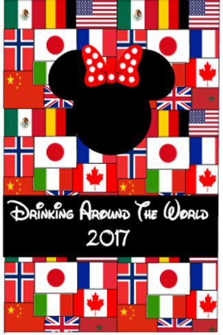 Disney Drinking Around the World Passport