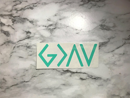 God Is Greater Decal