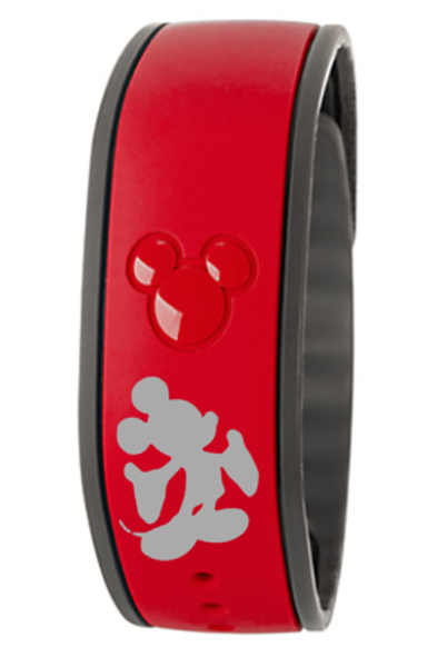 Mickey Silhouette Magic Band Decal