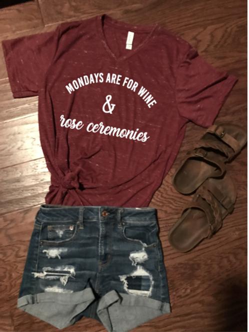 Wine and Rose Ceremonies Shirt