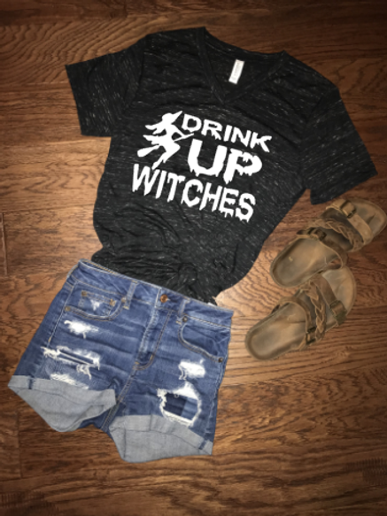 Drink Up Witches Vneck