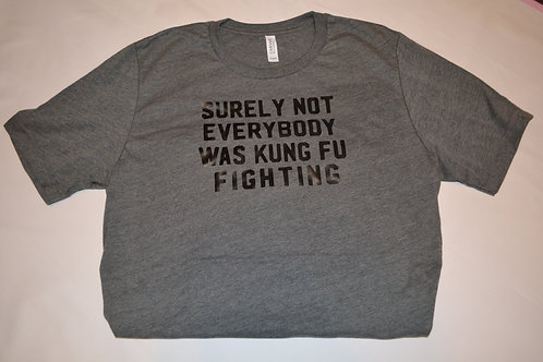 Surley not everybody was kung fu fighting shirt