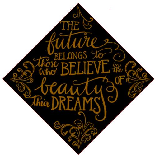 The Future Belongs to... Grad Cap