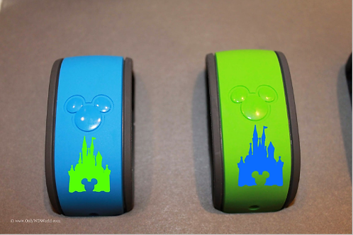 Disney Castle Magic Band Decal