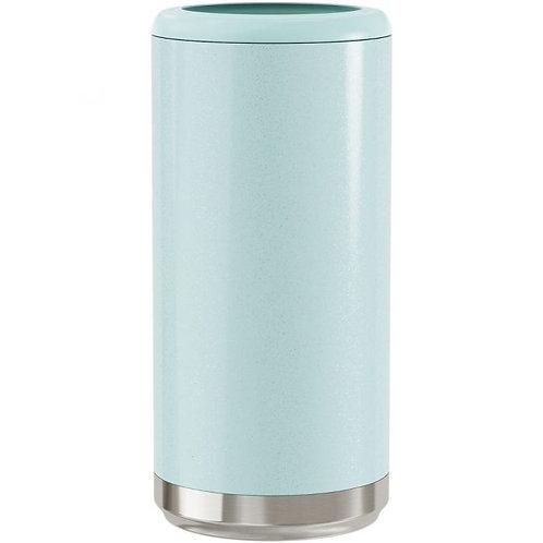 Mint Glitter Skinny Cooler