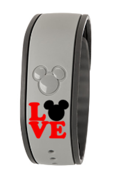 LOVE Magic Band Decal