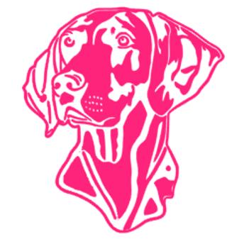 Weimaraner Dog Decal