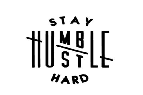Stay Humble, Hustle Hard Decal