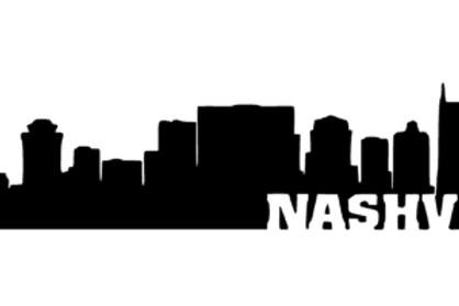 Nashville Skyline Laptop Decal