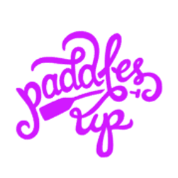 Paddles Up Decal