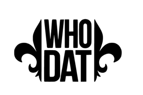 Who Dat Decal