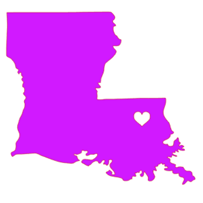 Louisiana State Decal