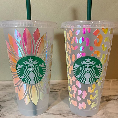 Sunflower Reusable Cold Cup - Specialty