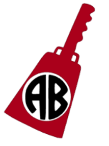 Cowbell Monogram Decal