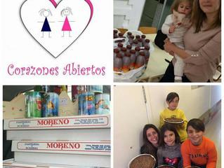 """Cumpleaños Solidarios, gracias a nuestra Asociación amiga """"Corazones Abiertos"""""""