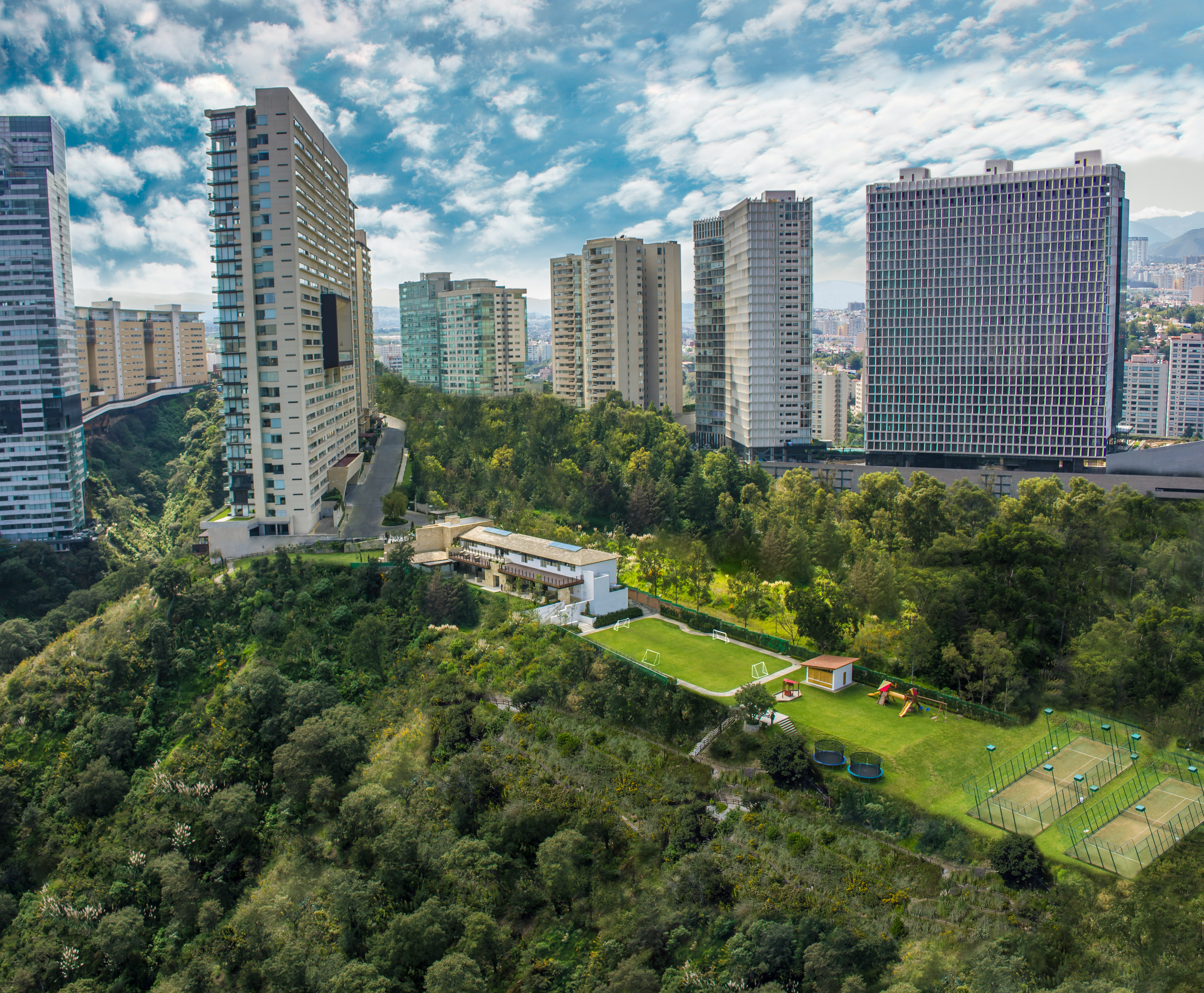 Fotografia aerea de residencial