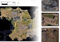 Mapeo de fotogrametria aerea en Ruinas
