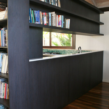 CLAYFIELD RESIDENCE For this client in Clayfield, Brisbane we created a complete fit out in a Wenge finish. ​ Designed by Grain Furniture and manufactured by RZ interiors, Noosa  Australia