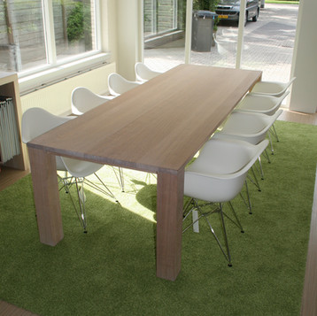 custom made meeting table for a client in Noosa