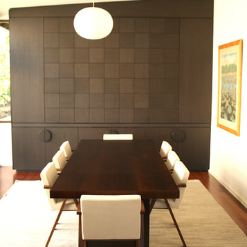 CLAYFIELD RESIDENCE For this client in Clayfield, Brisbane we created a completefit out in a Wenge finish.  Designed by Grain Furniture and manufactured by RZinteriors, Noosa Australia