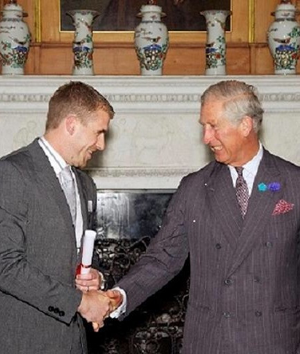 Wintergill's Traditional lime plaster meets prince charles