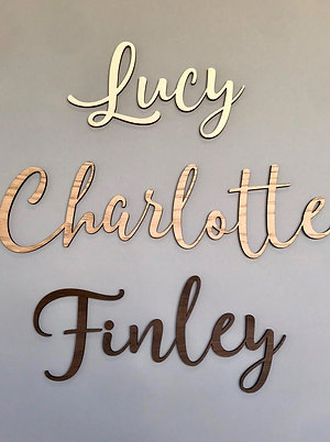 Personalised Wall Name - Mars Font